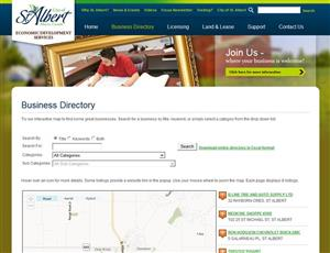 City of St. Albert Business Directory